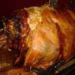 Our delicious slow-roasted hog