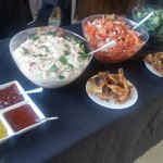Rustic Salads, Sauces and Crackling!